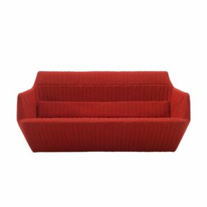 Facette Sofa Red