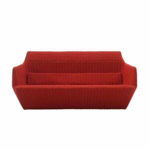 Facette Sofa Red