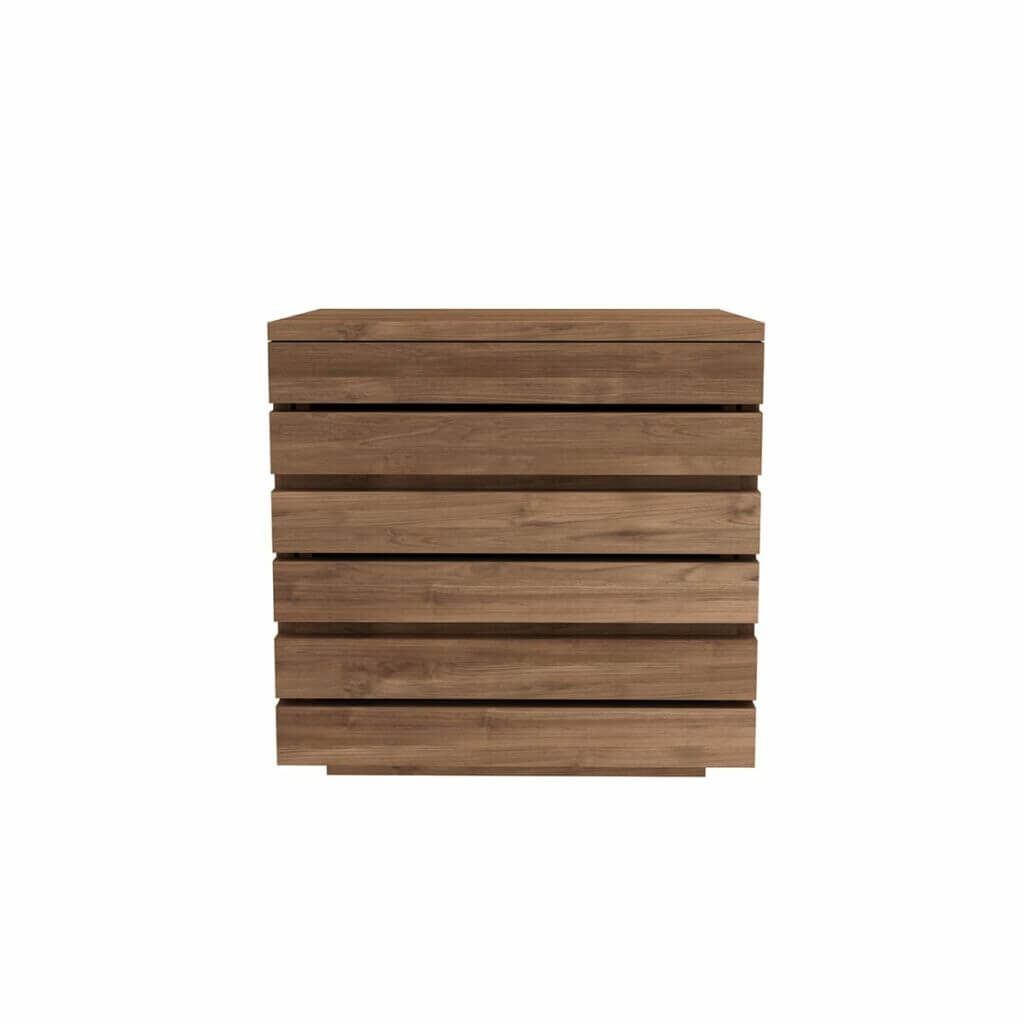 Horizon bedside table - Teak