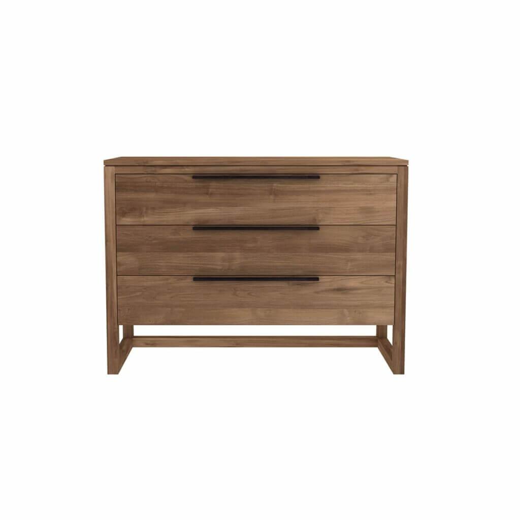Light Frame chest of drawers - Teak