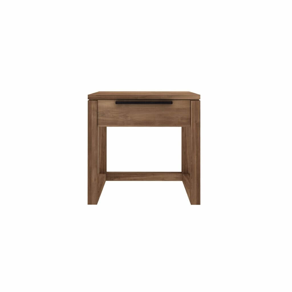 Light Frame Bedside table - Teak