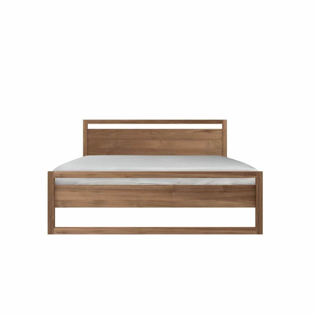 Light Frame Bed - Teak