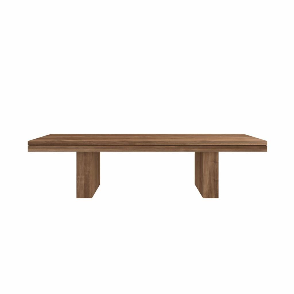 Double bench - Teak
