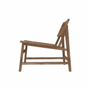 N2 lounge chair - Teak
