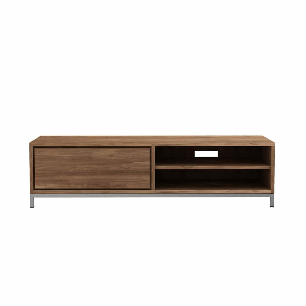Essential TV cupboard - Teak