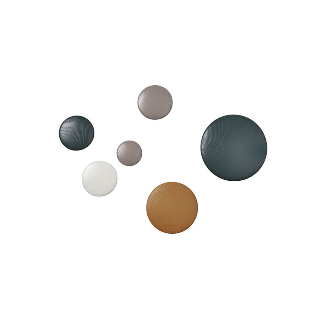 The Dots - Group Wood
