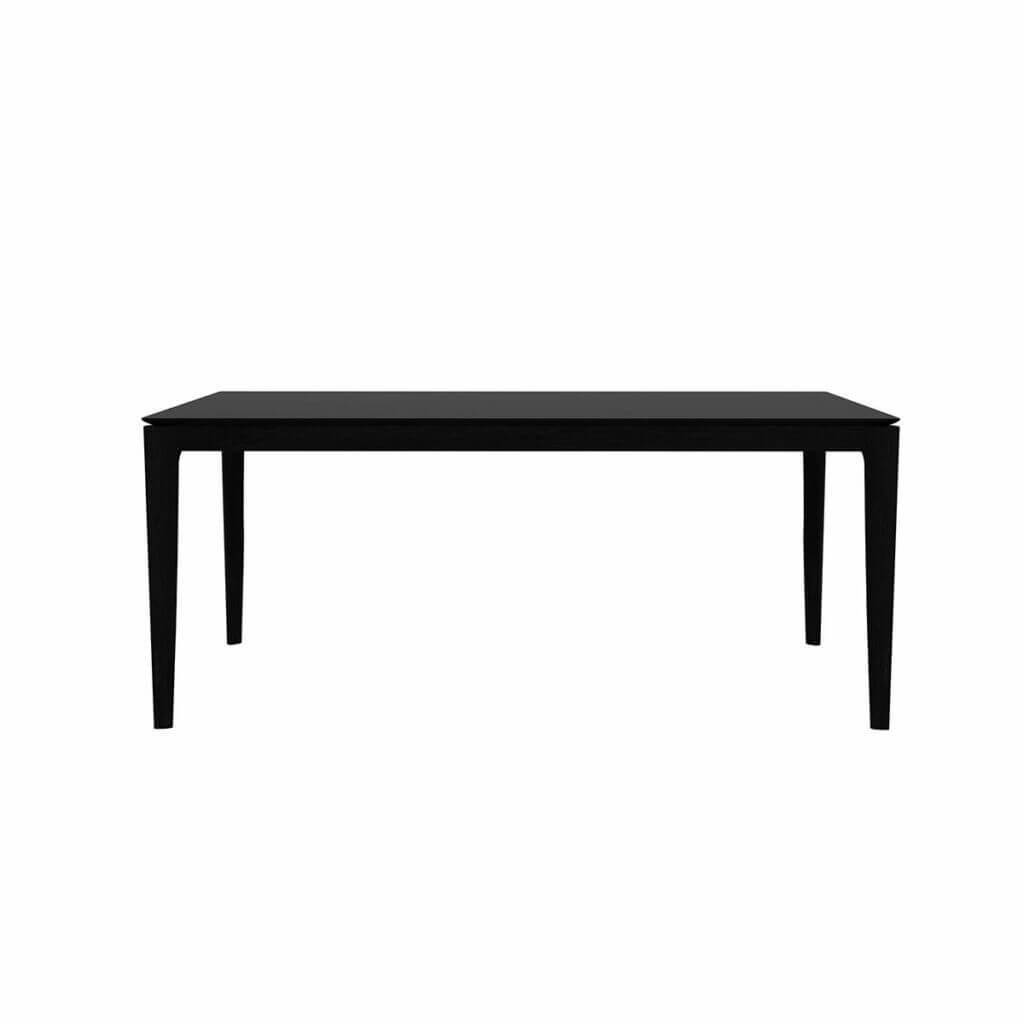 Bok dining table - Black 160/80/76 cm