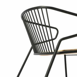 Gabbia-chair-detail