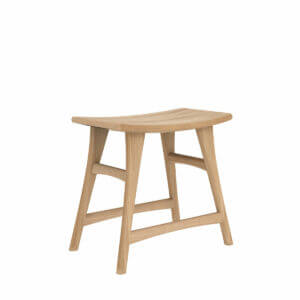Osso-stool-low-oak-nature