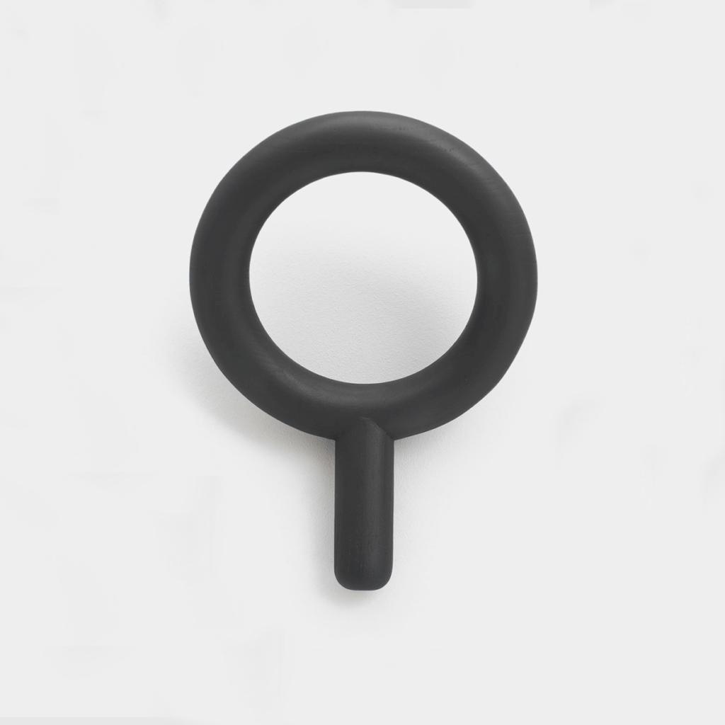 Oblo Coat Hanger - Large - Black