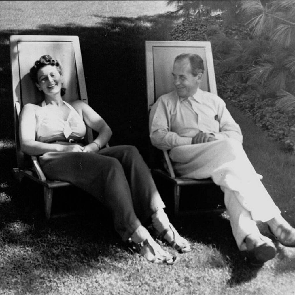 Walter and Ise Gropius