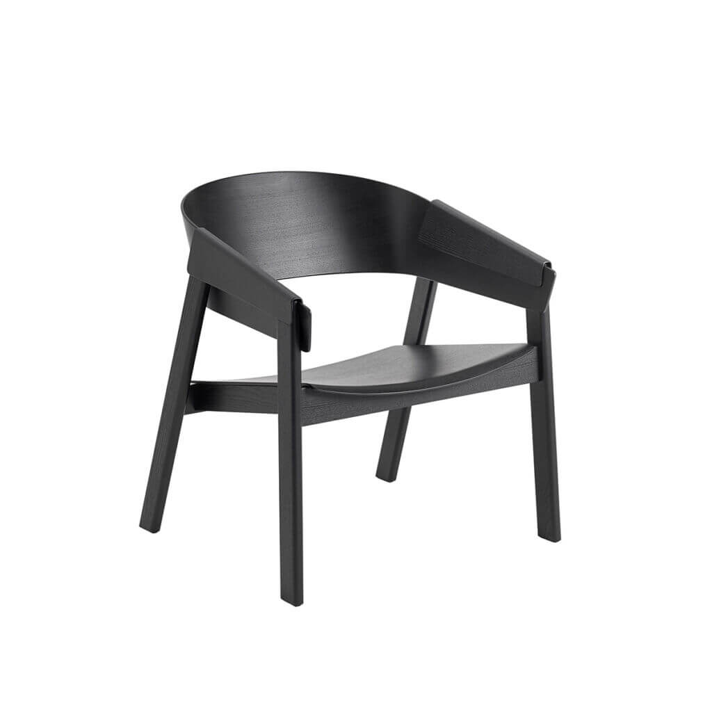 Cover Lounge Chair - Black