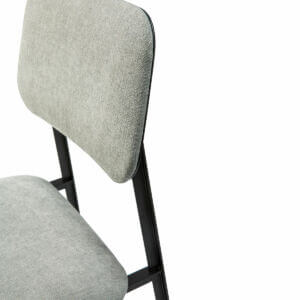 DC chairs light grey detail