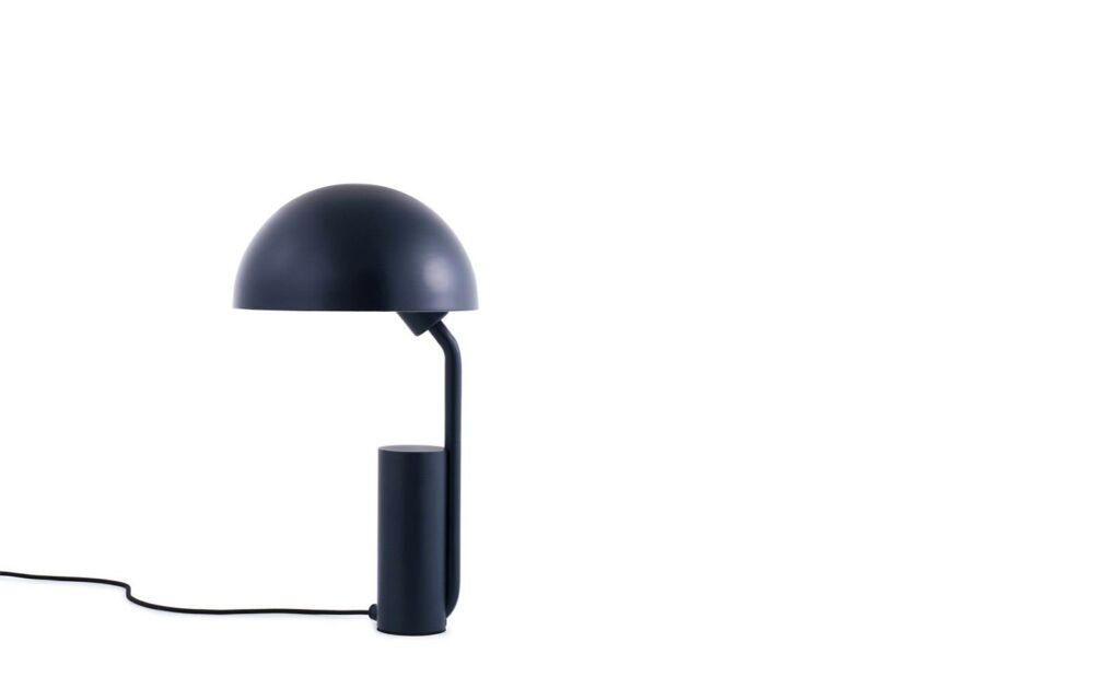 Cap Table Lamp - Midnight Blue
