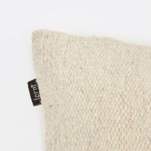 Kelim Cushion - Black Lines - Details