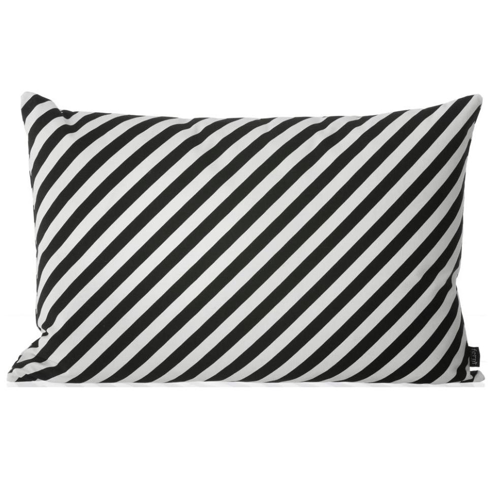Black Stripe Cushion