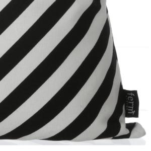 black-stripe-cushion