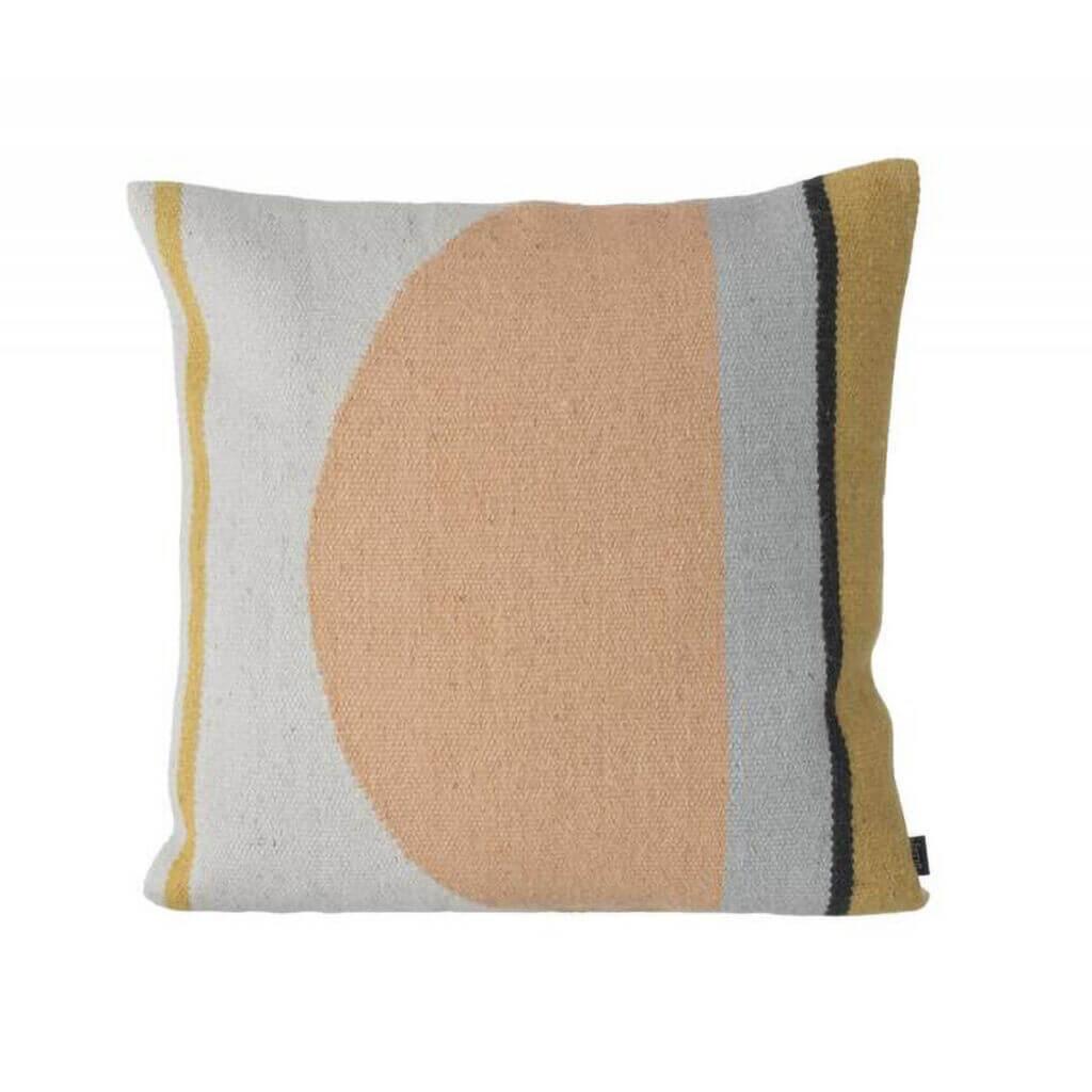 Kelim Cushion - Semicircle