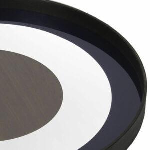 Walnut Bullseye Tray - Detail