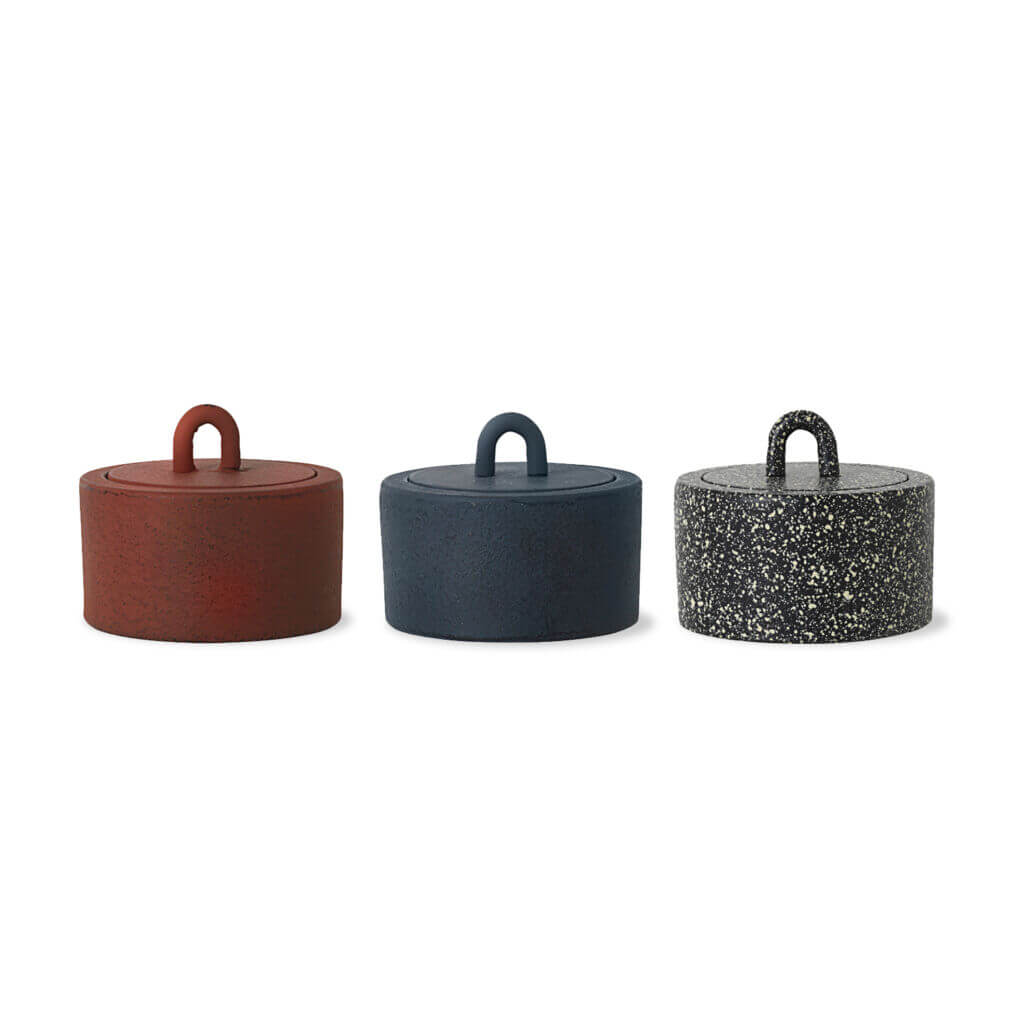 Buckle Jar - Colours