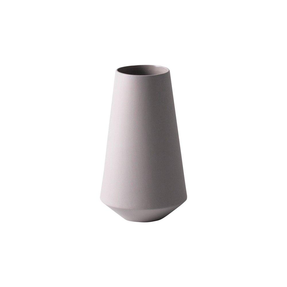 Sculpt Vase - Grey