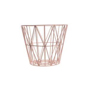 Wire Basket - Rose