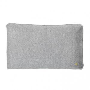 Wool Cushion - Light Grey