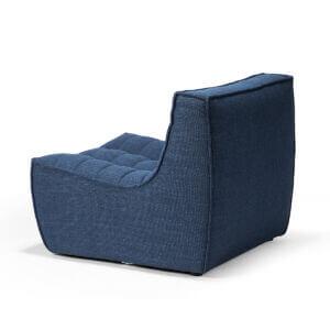 sofa 1 seater blue 2