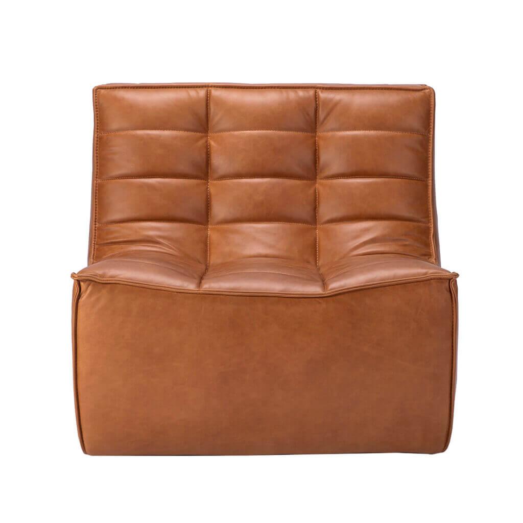 sofa 1 seater nut