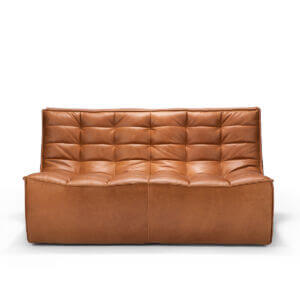 sofa 2 seater nut