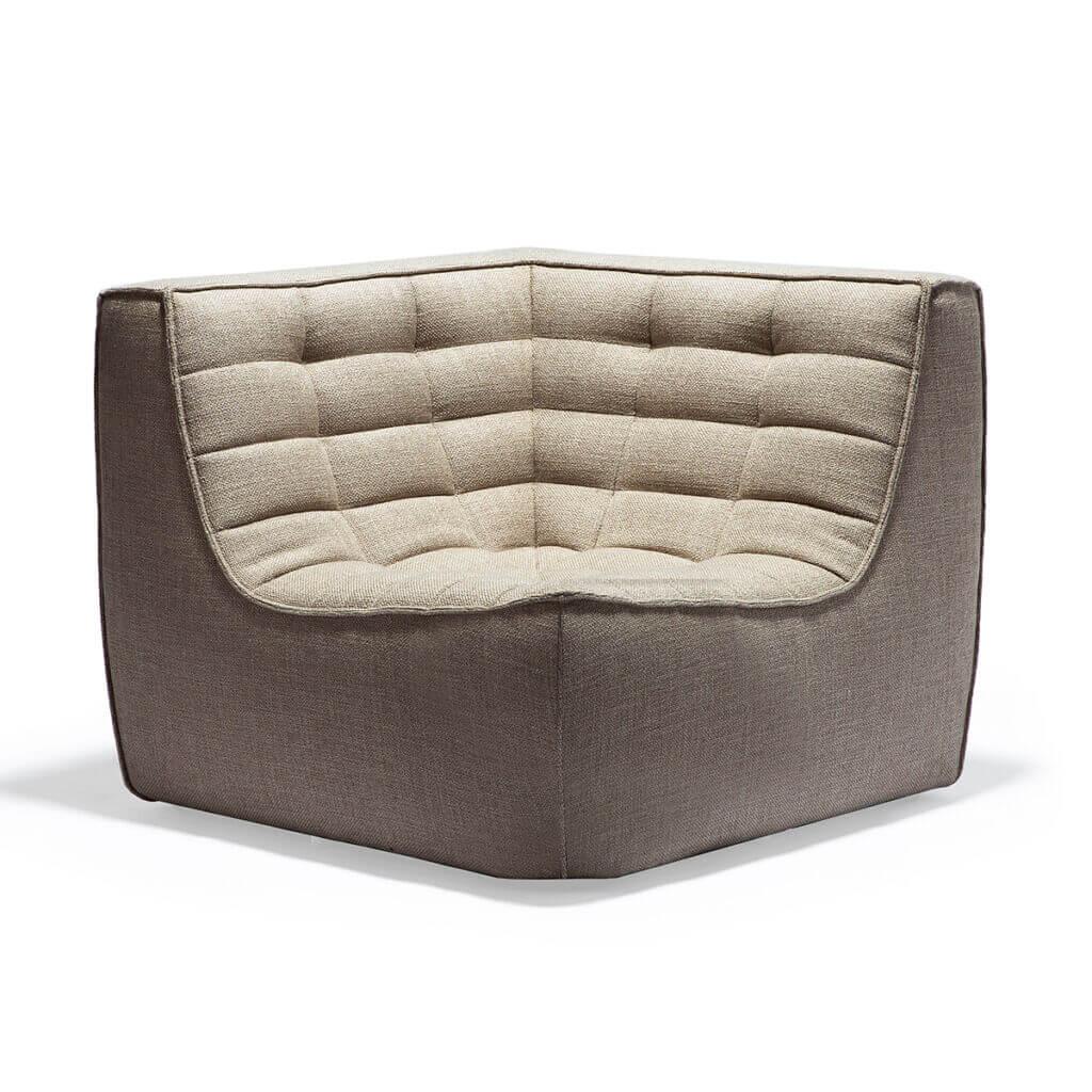 sofa corner beige