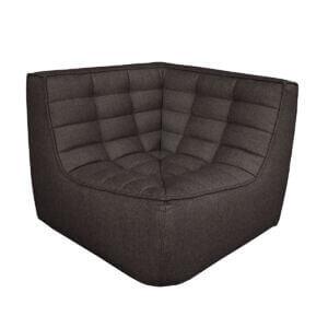 sofa corner black