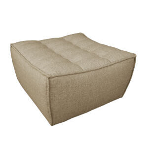 sofa footstool beige 2