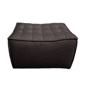 sofa footstool black