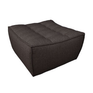 sofa footstool black 2