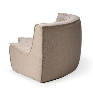 sofa round corner beige 3