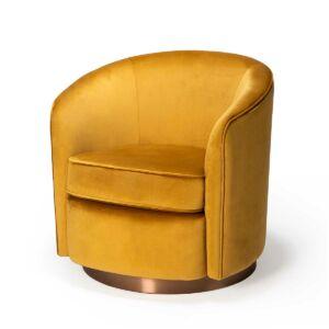 swivel gold sofa 5