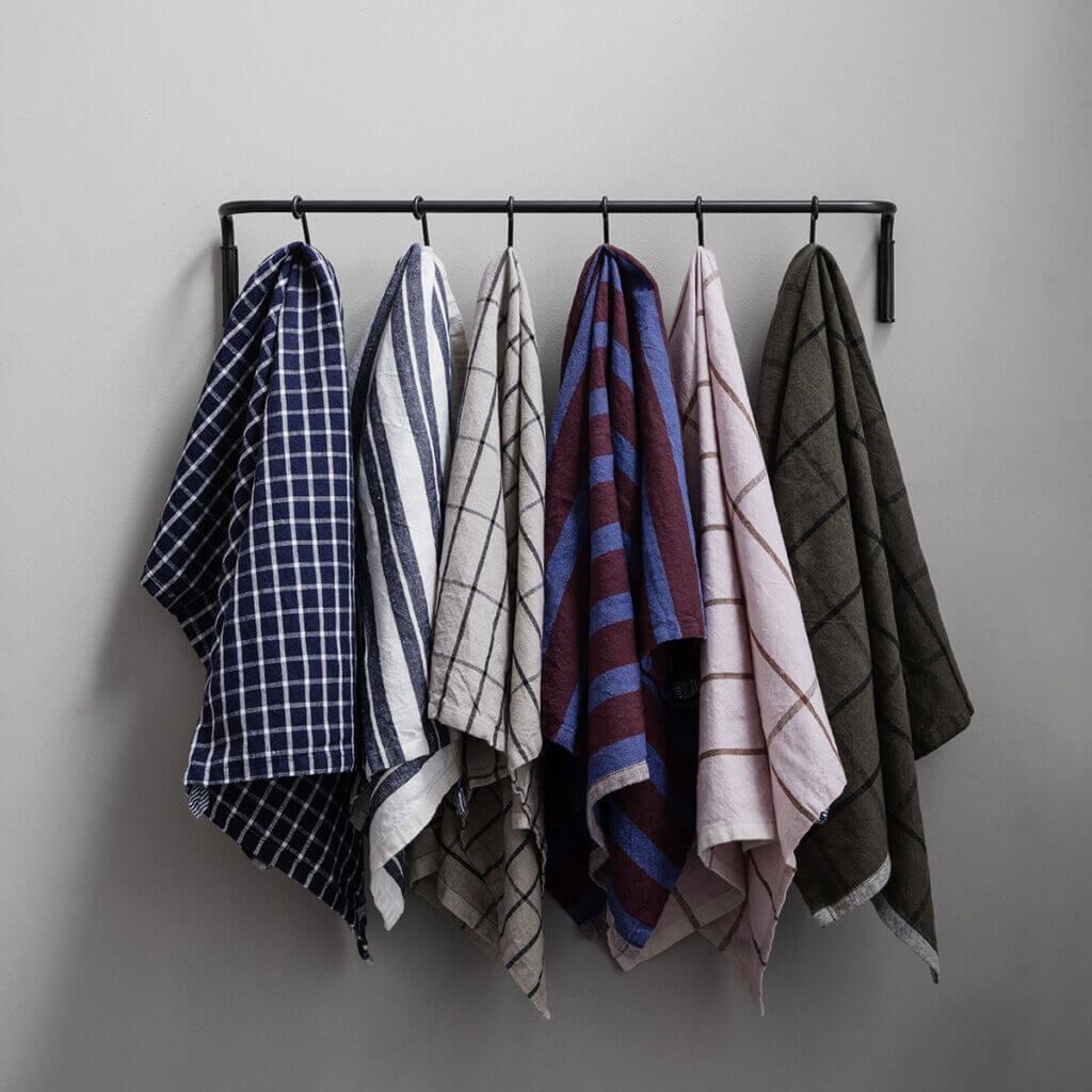 Hale Yarn dyed linen towel
