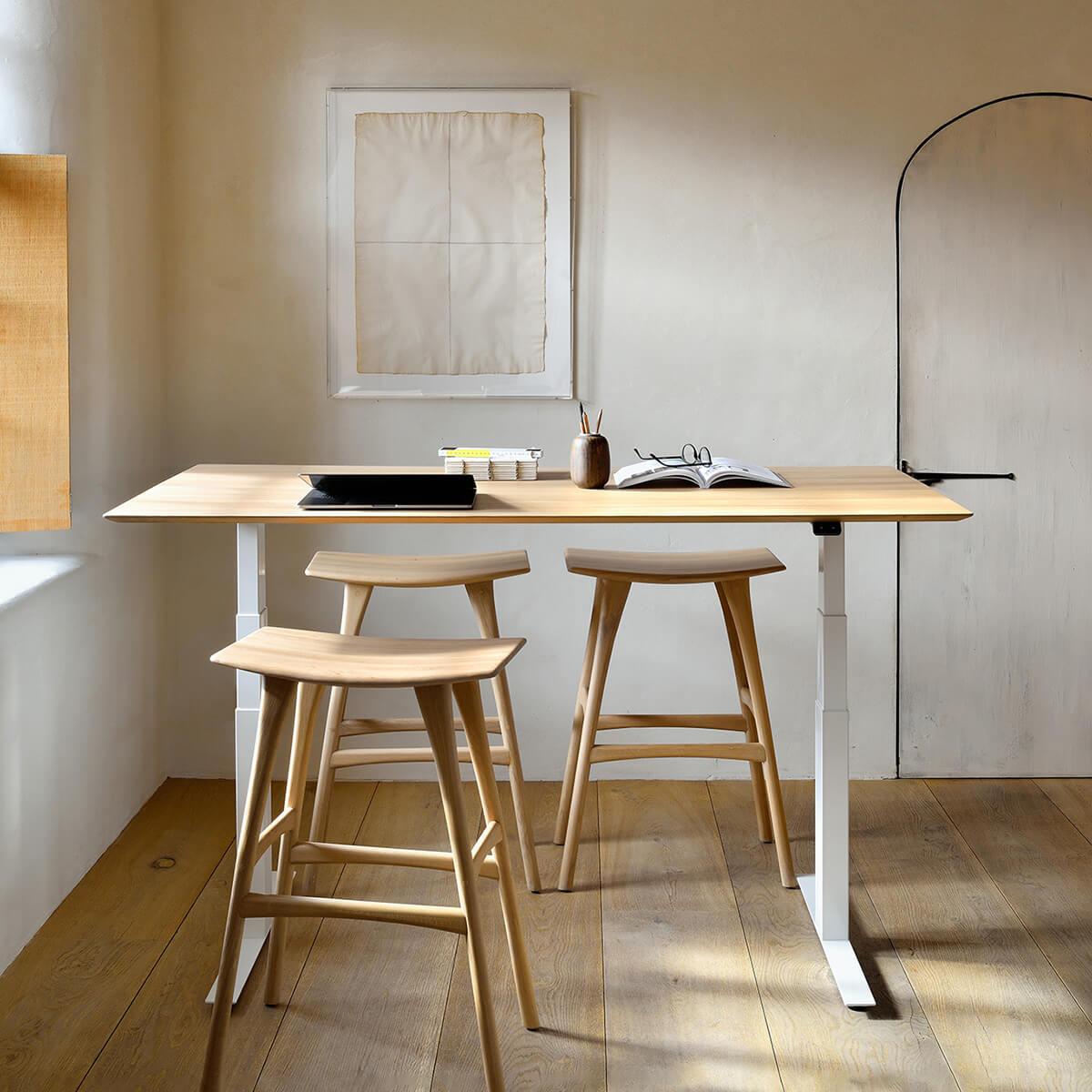 Oak Osso bar stool