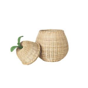 Pear Braided Storage - Open