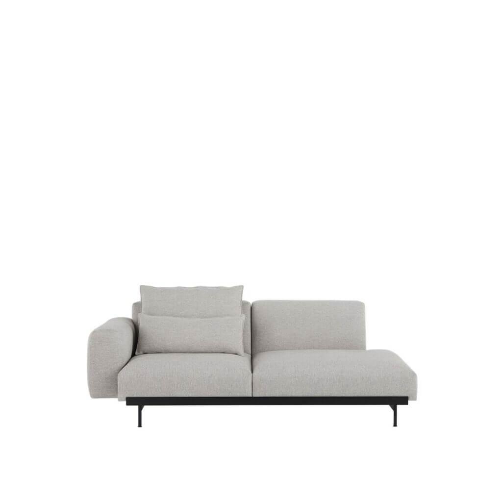 In Situ Sofa - 2seater - Configuration 3 - Clay 12