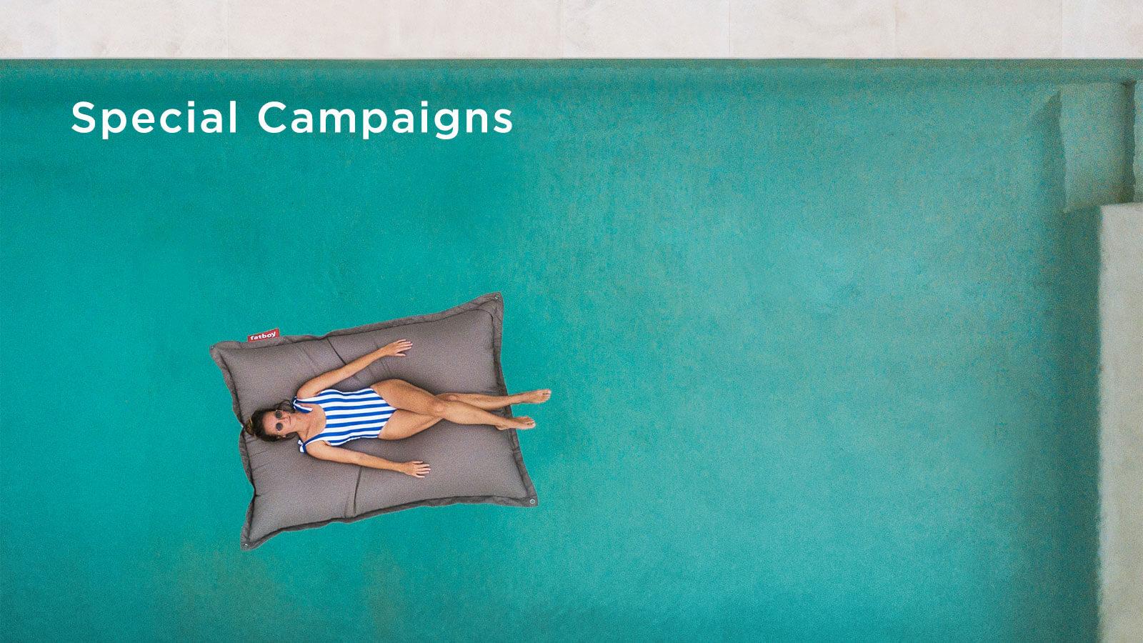 Special campaigns