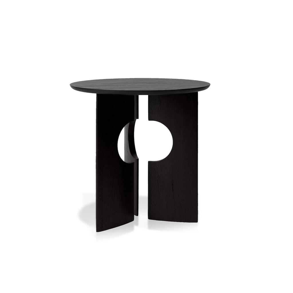 Teak Black Cove side table