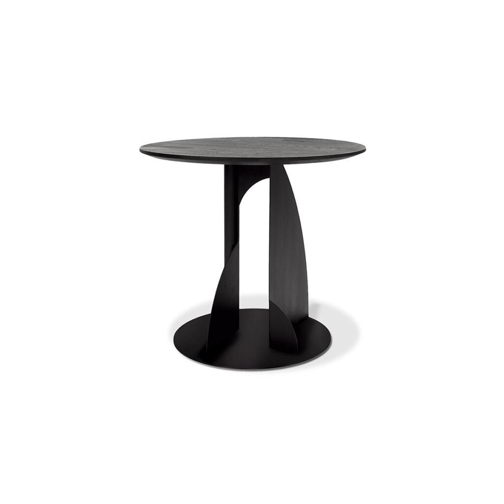 Teak Black Bau side table