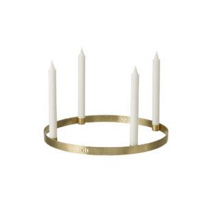 Candleholder Circle - Brass