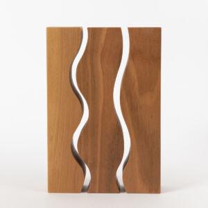 Talas Sculpture - Steamed Walnut