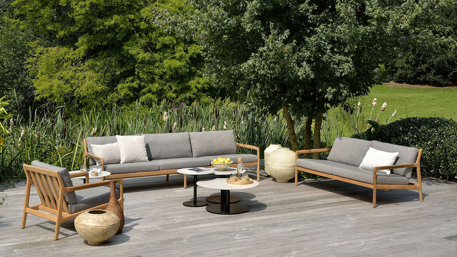 Jack Outdoor Sofa - Mocha