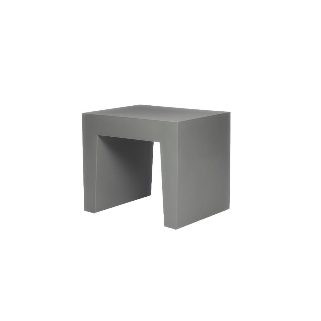 Concrete Seat - Light Grey