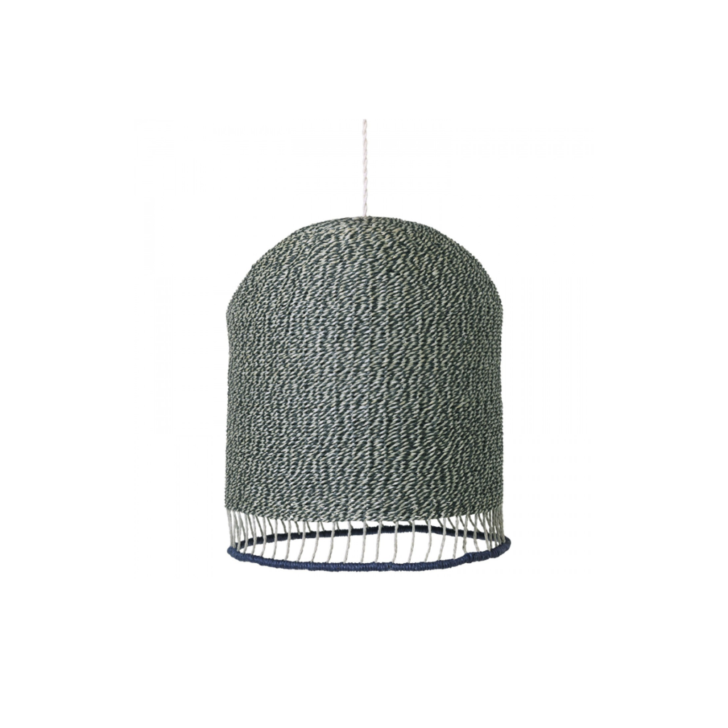Braided Lampshade - Dusty Green