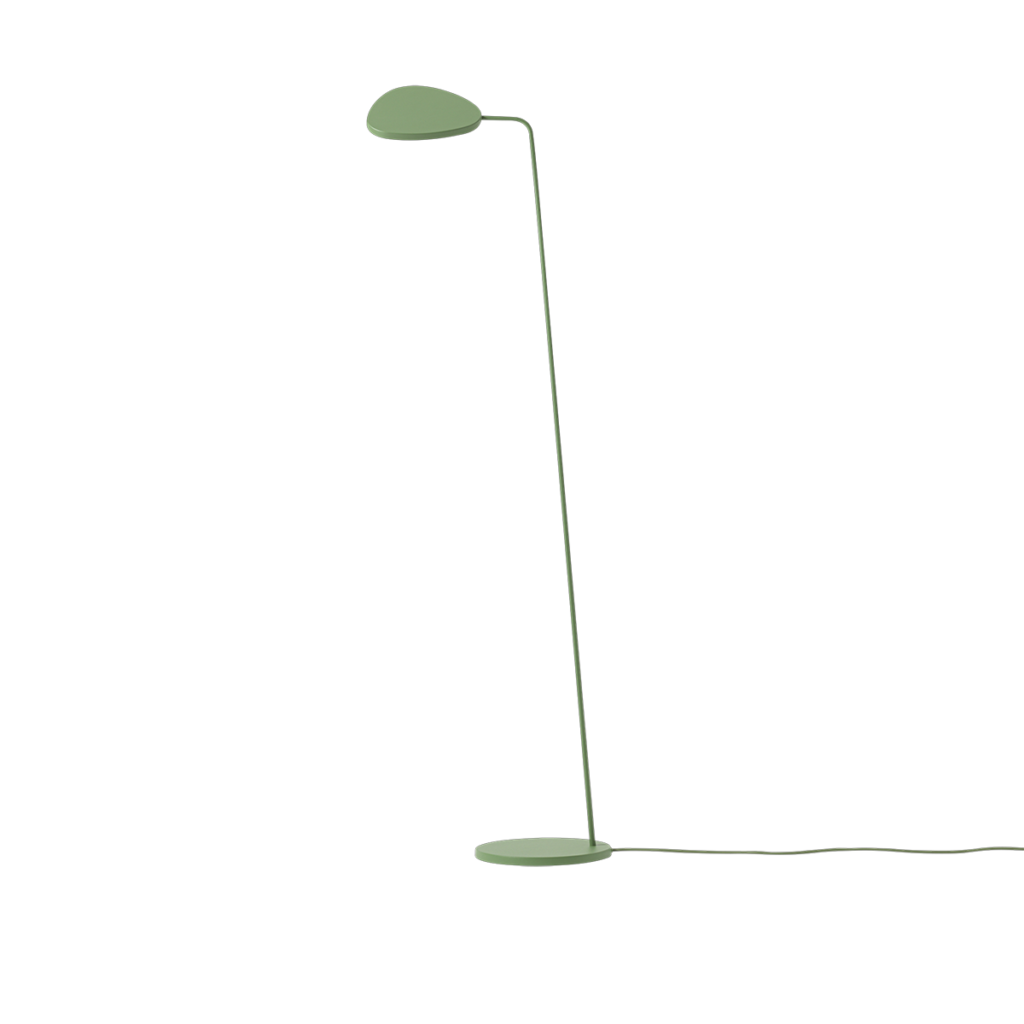 Leaf Floor Lamp - Dusty Green